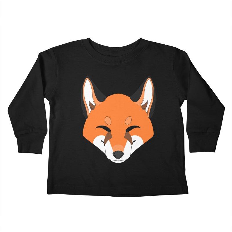 Small Fox Kids Toddler Longsleeve T-Shirt by Bluefeatherkitten's Artist Shop