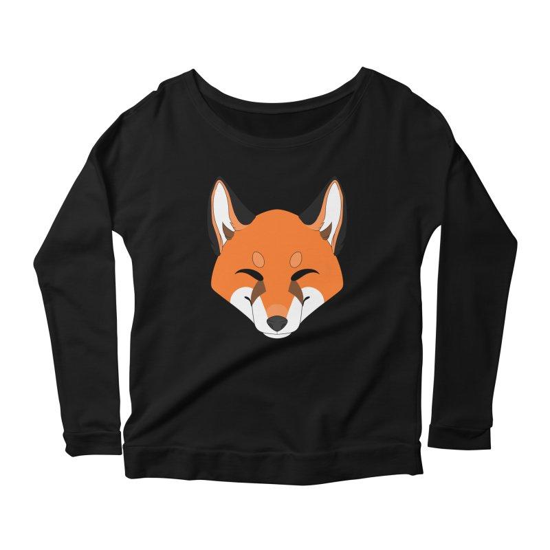 Small Fox Women's Longsleeve T-Shirt by Bluefeatherkitten's Artist Shop