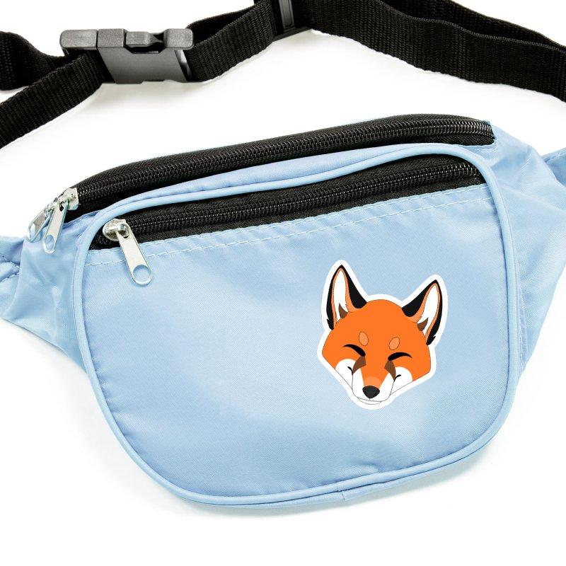 Small Fox Accessories Sticker by Bluefeatherkitten's Artist Shop