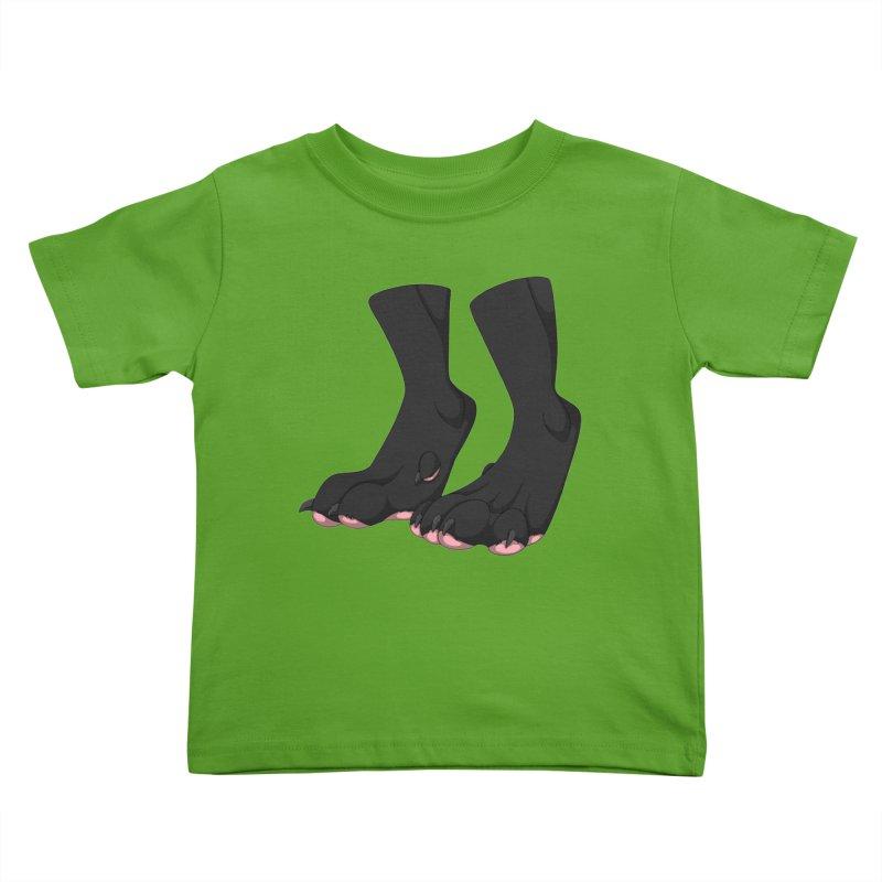 Them Paws Kids Toddler T-Shirt by Bluefeatherkitten's Artist Shop