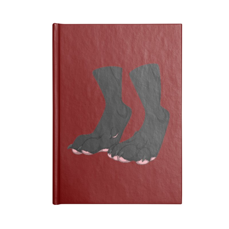 Them Paws Accessories Notebook by Bluefeatherkitten's Artist Shop