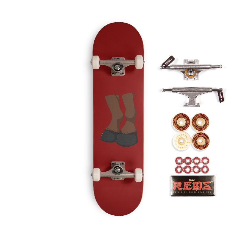 Them Hooves Accessories Skateboard by Bluefeatherkitten's Artist Shop