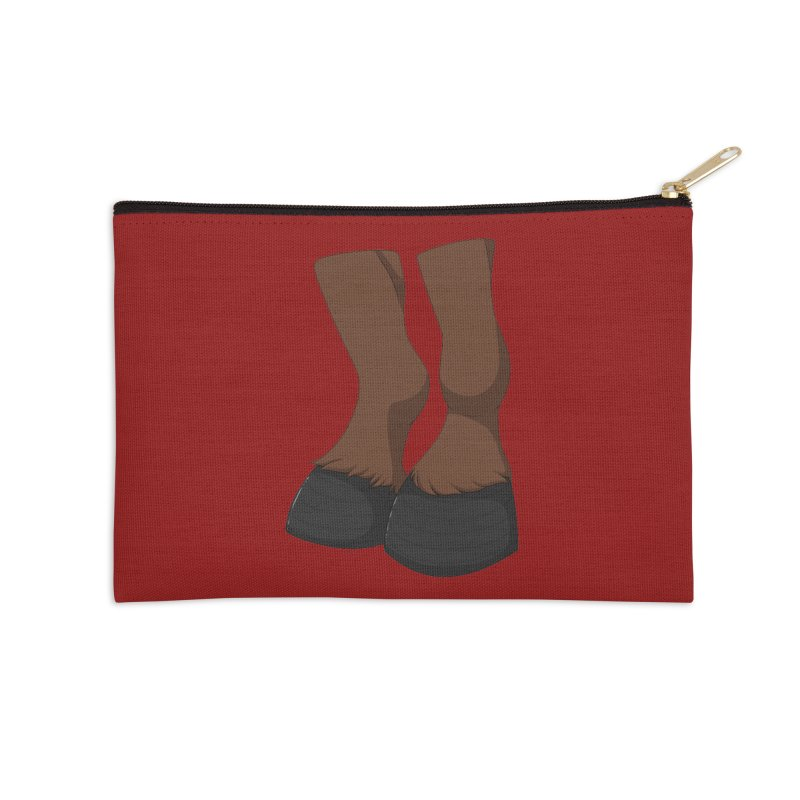 Them Hooves Accessories Zip Pouch by Bluefeatherkitten's Artist Shop