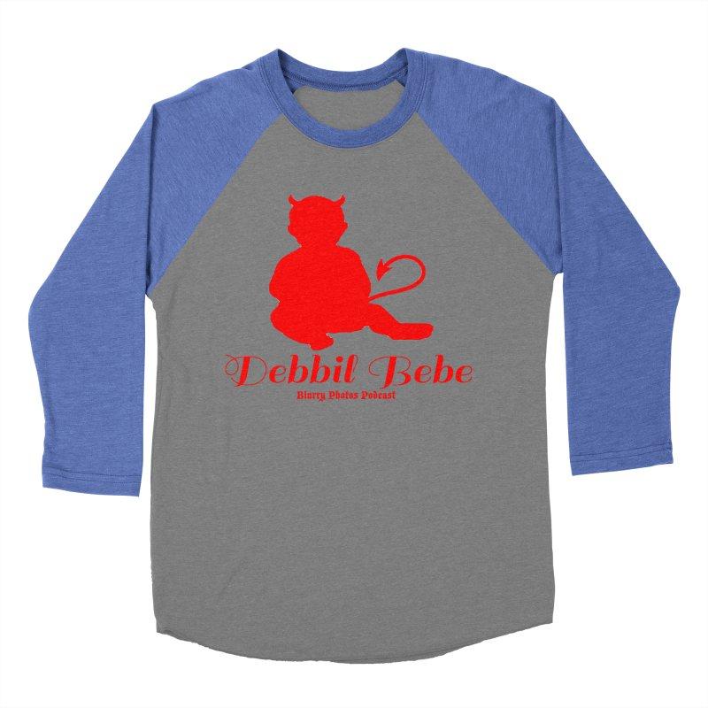 Devil Baby Women's Baseball Triblend Longsleeve T-Shirt by Blurry Photos's Artist Shop