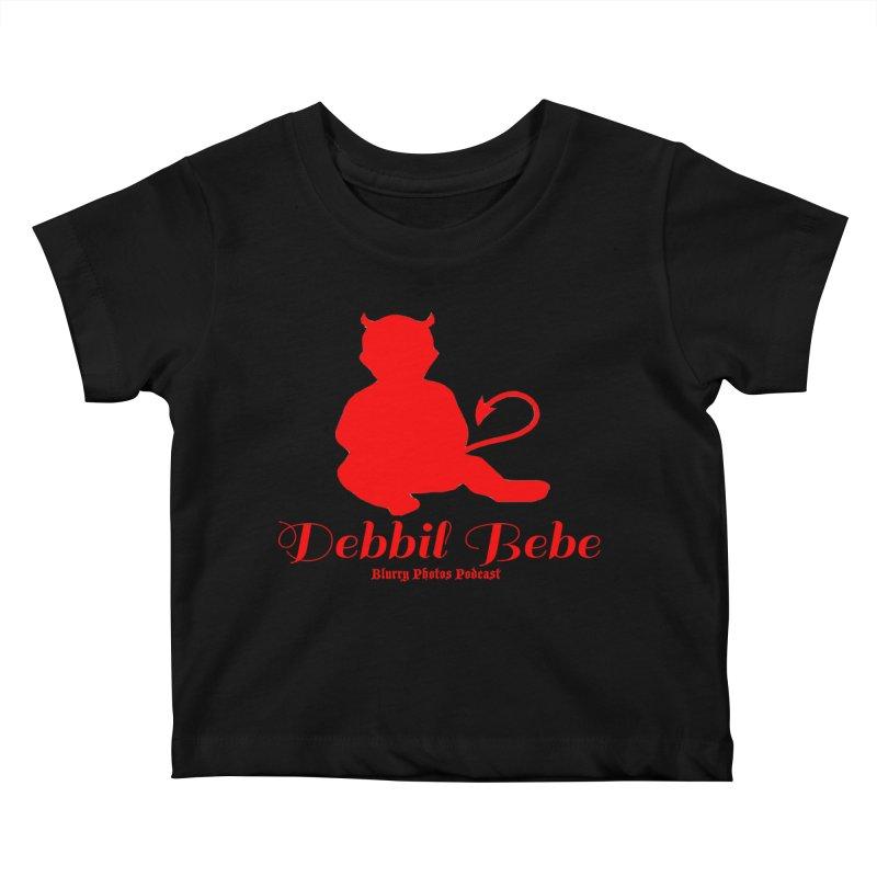 Devil Baby Kids Baby T-Shirt by Blurry Photos's Artist Shop