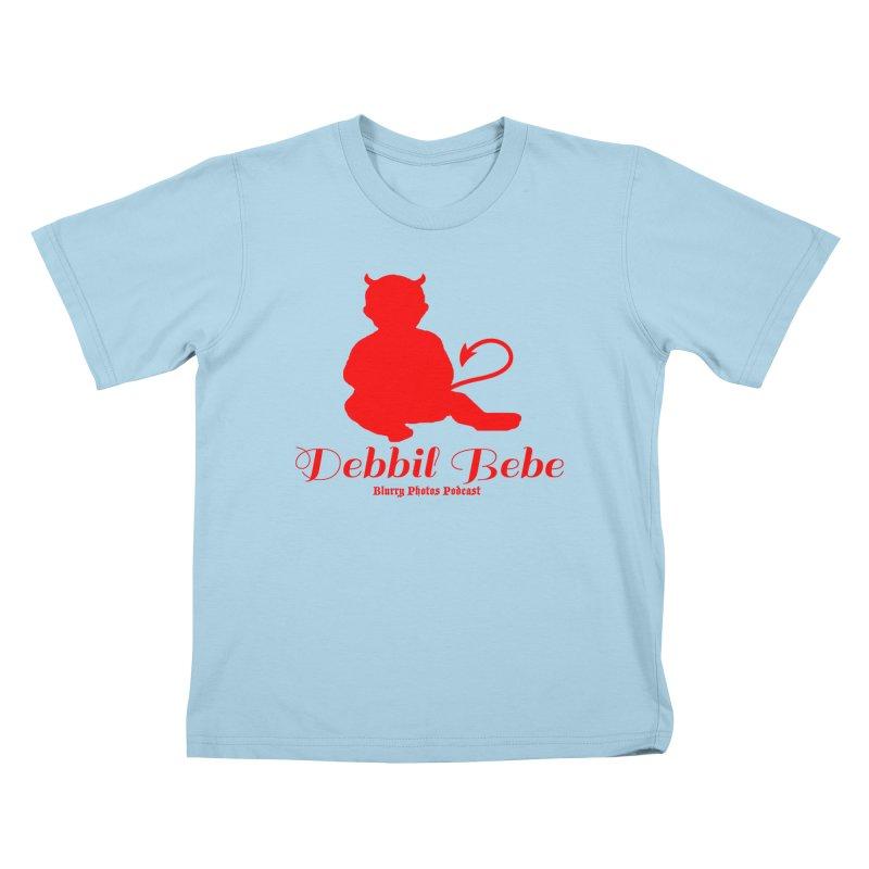 Devil Baby Kids T-Shirt by Blurry Photos's Artist Shop