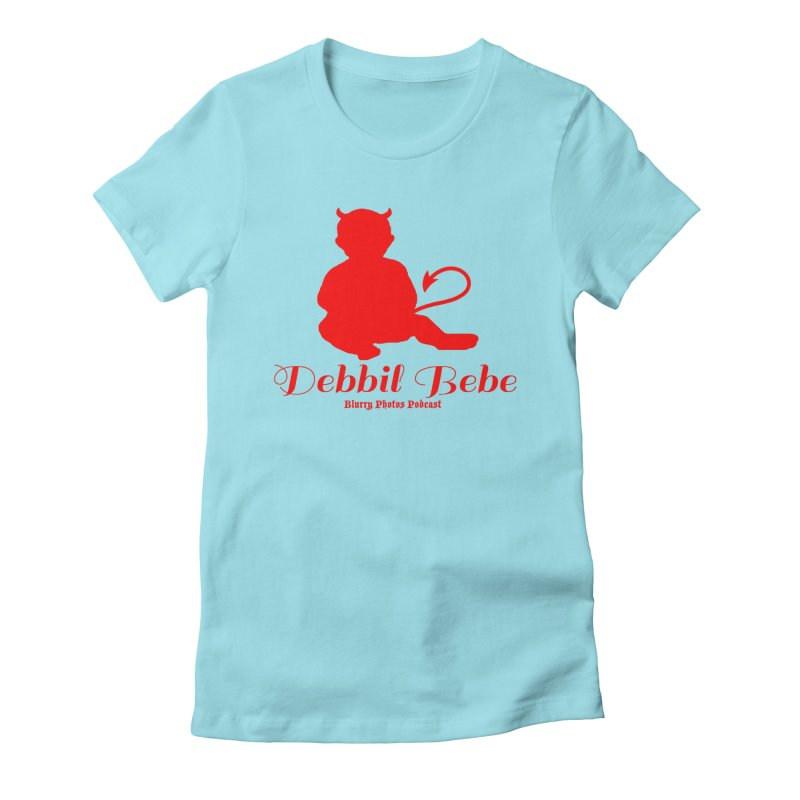 Devil Baby Women's Fitted T-Shirt by Blurry Photos's Artist Shop