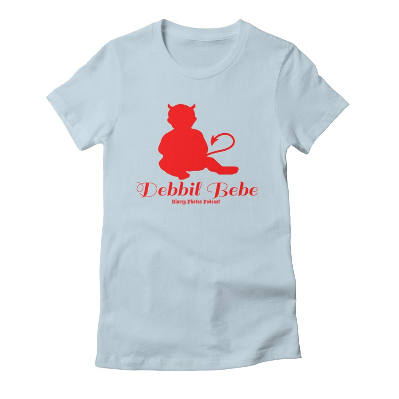 Devil Baby Women's T-Shirt by Blurry Photos's Artist Shop