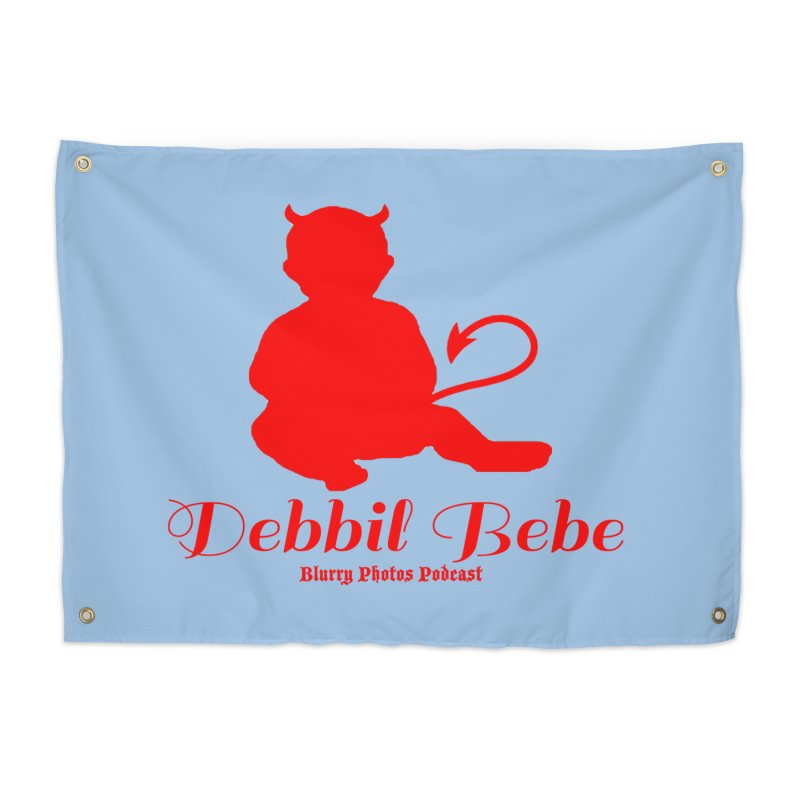 Devil Baby Home Tapestry by Blurry Photos's Artist Shop