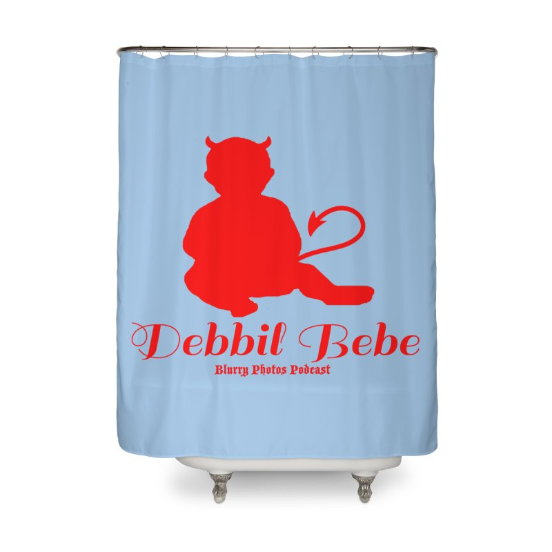 Devil Baby Home Shower Curtain by Blurry Photos's Artist Shop