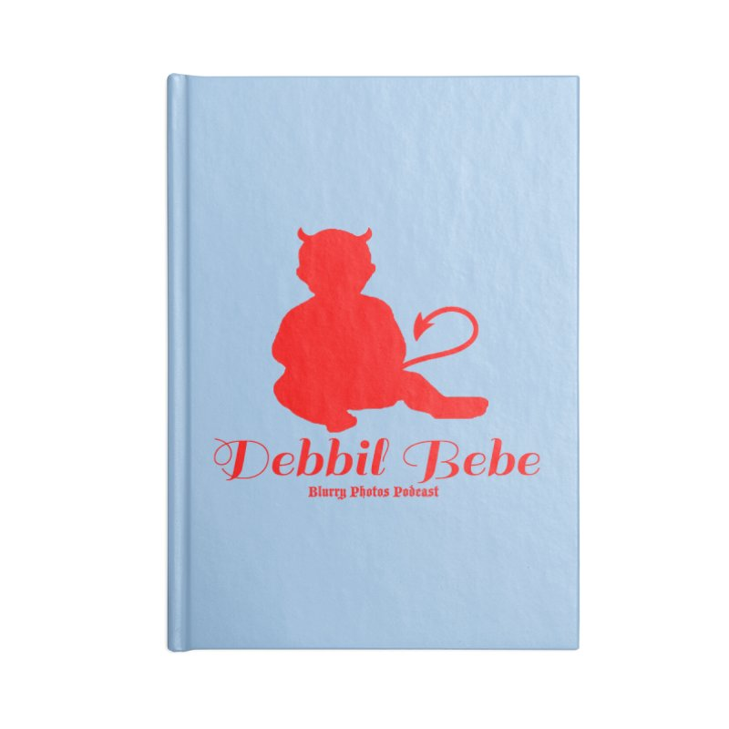 Devil Baby Accessories Blank Journal Notebook by Blurry Photos's Artist Shop