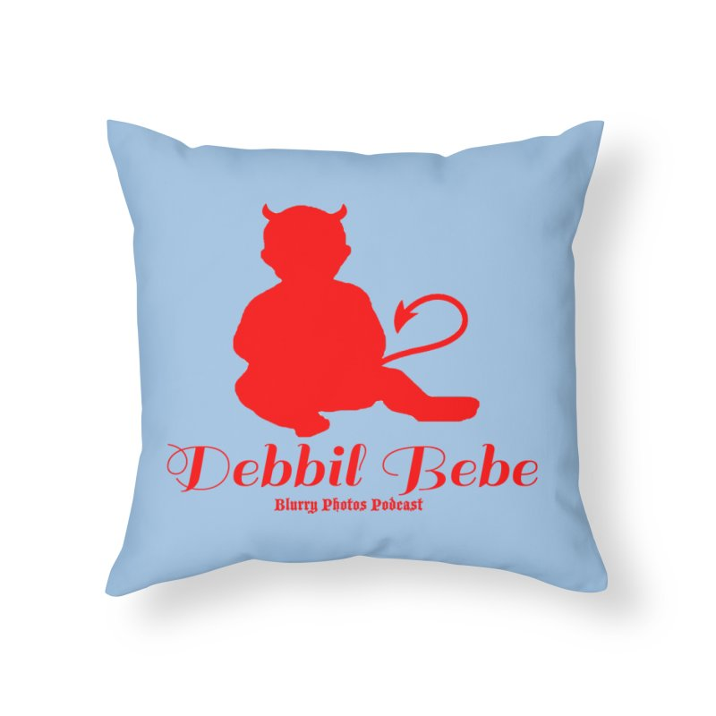 Devil Baby Home Throw Pillow by Blurry Photos's Artist Shop