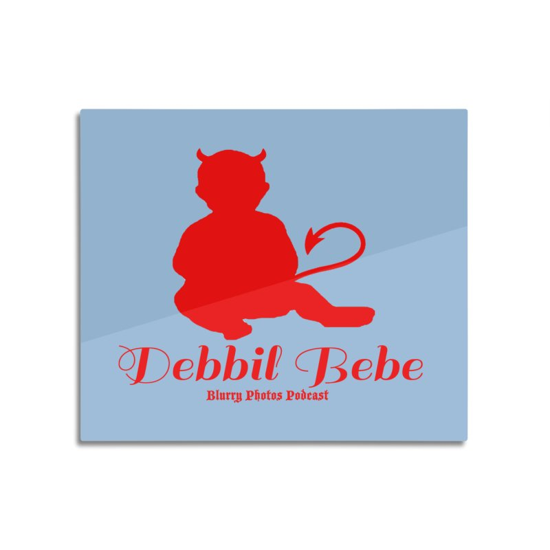 Devil Baby Home Mounted Aluminum Print by Blurry Photos's Artist Shop