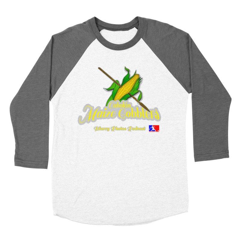 Cahokia Maize Gobblers Women's Baseball Triblend Longsleeve T-Shirt by Blurry Photos's Artist Shop