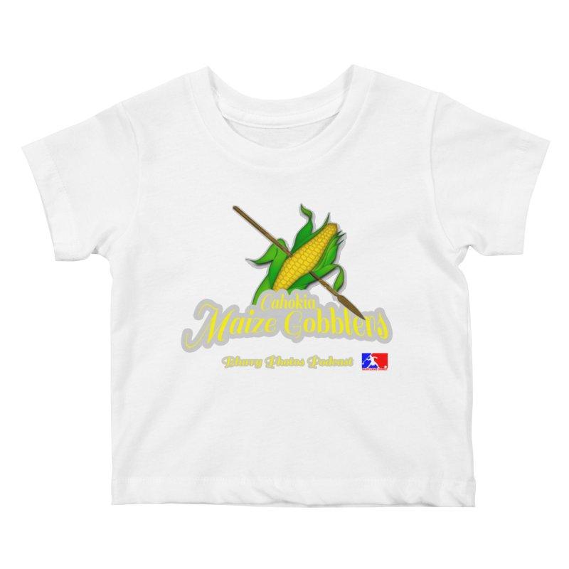 Cahokia Maize Gobblers Kids Baby T-Shirt by Blurry Photos's Artist Shop