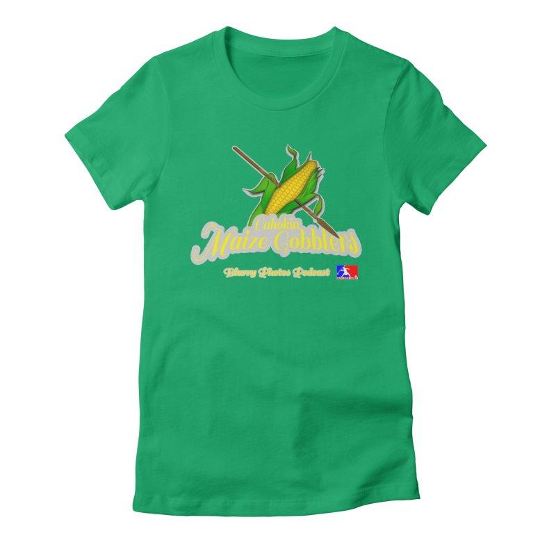 Cahokia Maize Gobblers Women's T-Shirt by Blurry Photos's Artist Shop