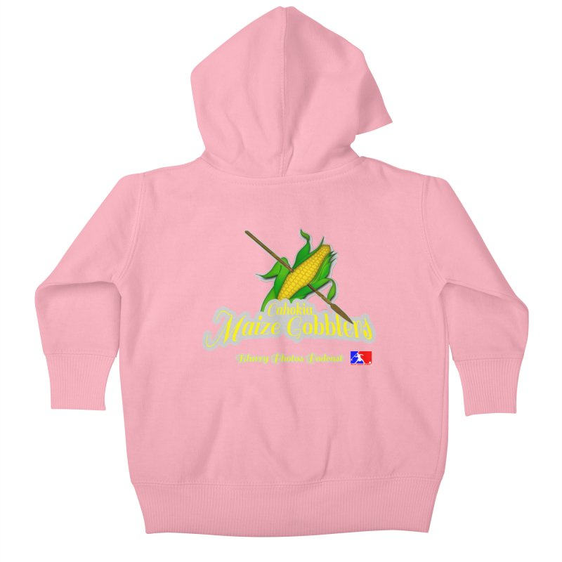 Cahokia Maize Gobblers Kids Baby Zip-Up Hoody by Blurry Photos's Artist Shop