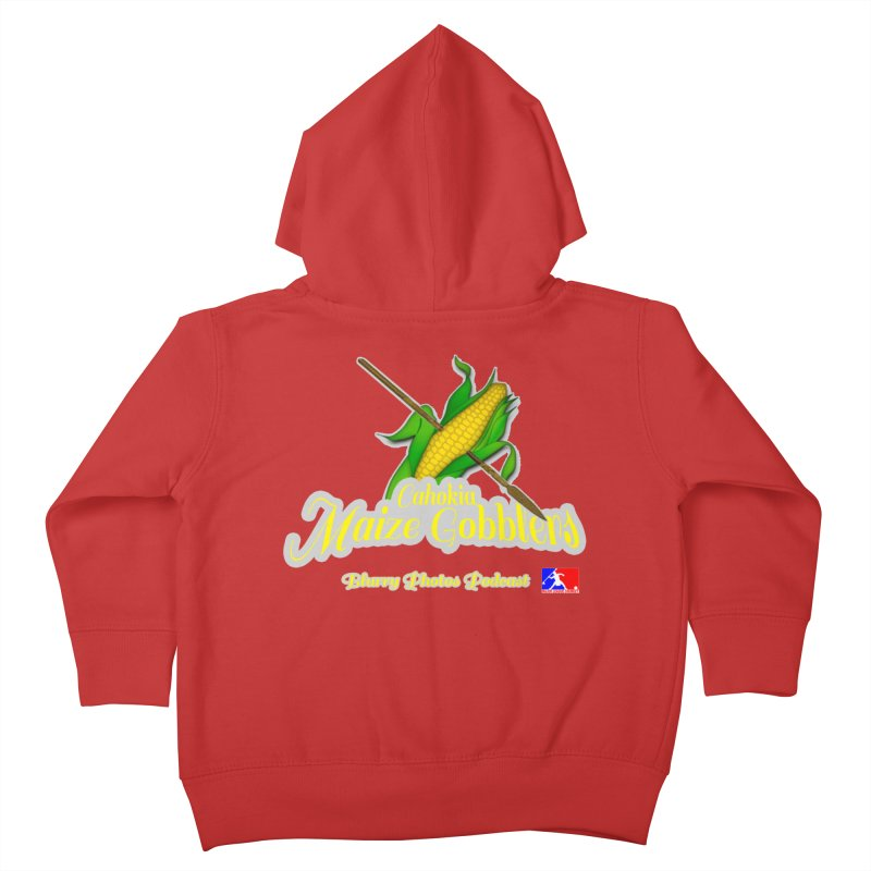 Cahokia Maize Gobblers Kids Toddler Zip-Up Hoody by Blurry Photos's Artist Shop