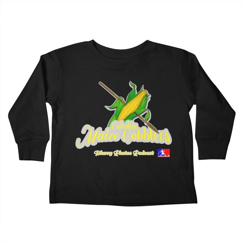 Cahokia Maize Gobblers Kids Toddler Longsleeve T-Shirt by Blurry Photos's Artist Shop