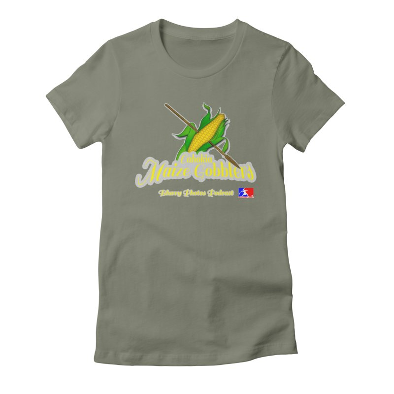 Cahokia Maize Gobblers Women's Fitted T-Shirt by Blurry Photos's Artist Shop