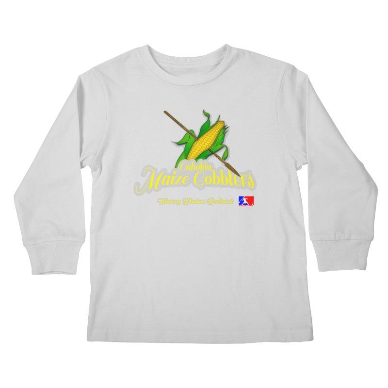 Cahokia Maize Gobblers Kids Longsleeve T-Shirt by Blurry Photos's Artist Shop