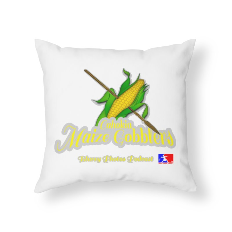 Cahokia Maize Gobblers Home Throw Pillow by Blurry Photos's Artist Shop