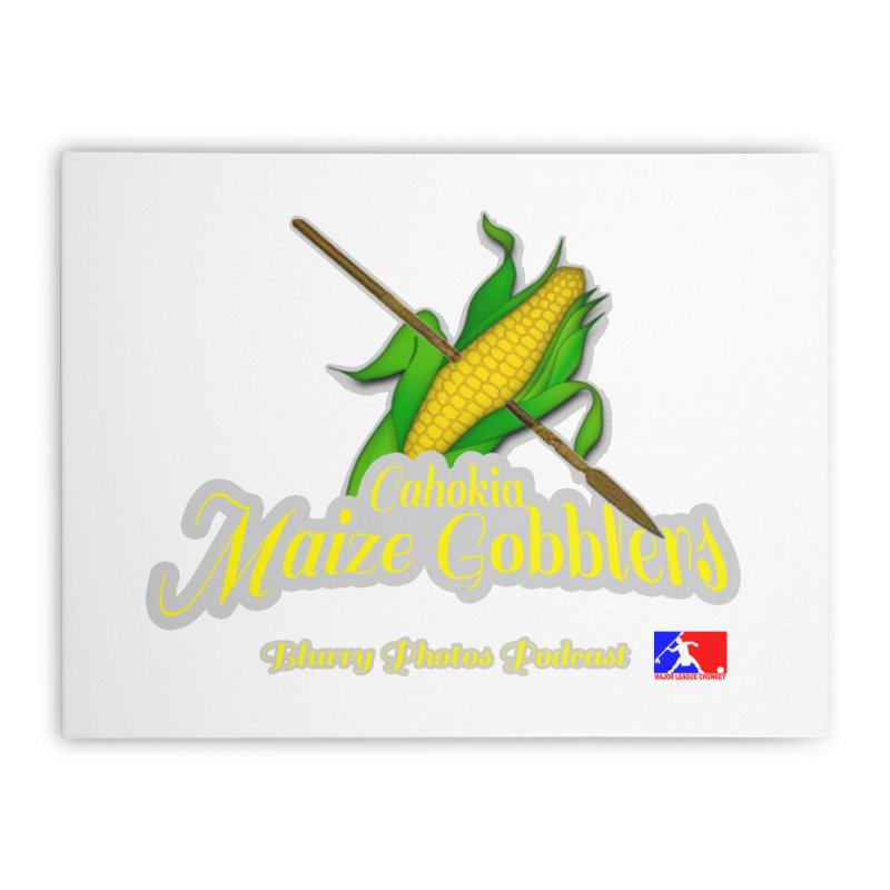 Cahokia Maize Gobblers Home Stretched Canvas by Blurry Photos's Artist Shop
