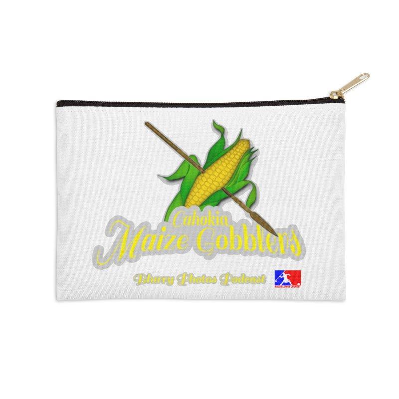 Cahokia Maize Gobblers Accessories Zip Pouch by Blurry Photos's Artist Shop