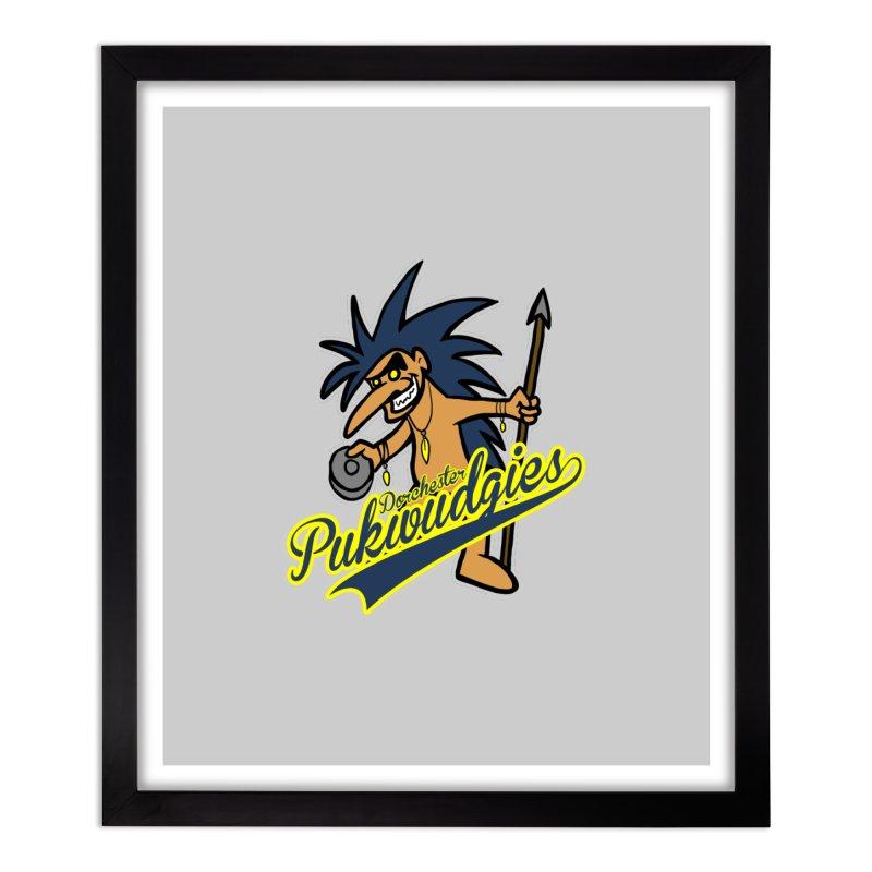 Dorchester Pukwudgies Home Framed Fine Art Print by Blurry Photos's Artist Shop