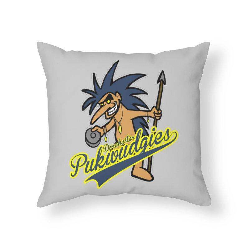 Dorchester Pukwudgies Home Throw Pillow by Blurry Photos's Artist Shop