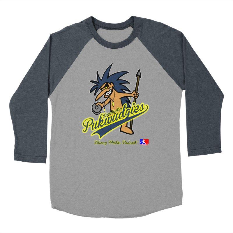 Dorchester Pukwudgies Women's Baseball Triblend Longsleeve T-Shirt by Blurry Photos's Artist Shop