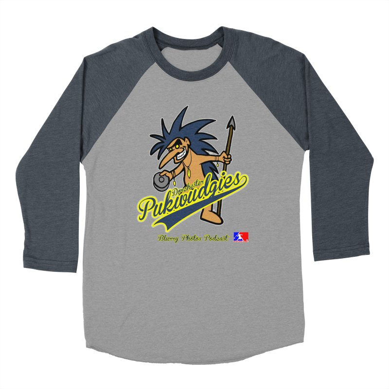 Dorchester Pukwudgies Men's Baseball Triblend Longsleeve T-Shirt by Blurry Photos's Artist Shop