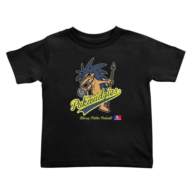 Dorchester Pukwudgies Kids Toddler T-Shirt by Blurry Photos's Artist Shop