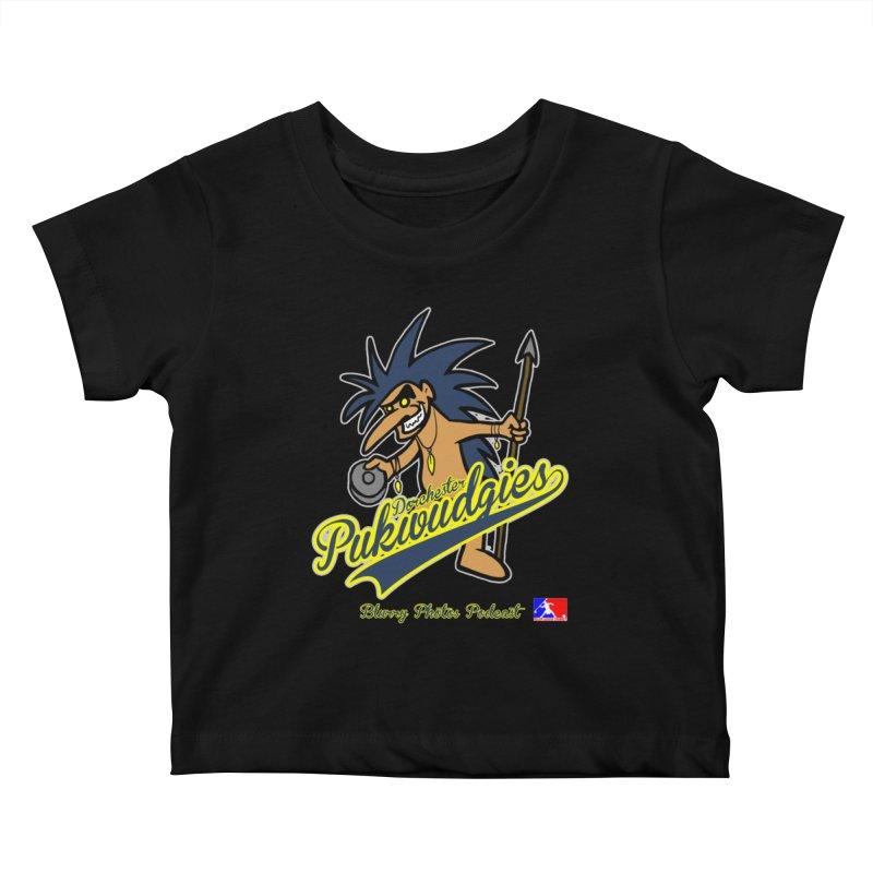 Dorchester Pukwudgies Kids Baby T-Shirt by Blurry Photos's Artist Shop