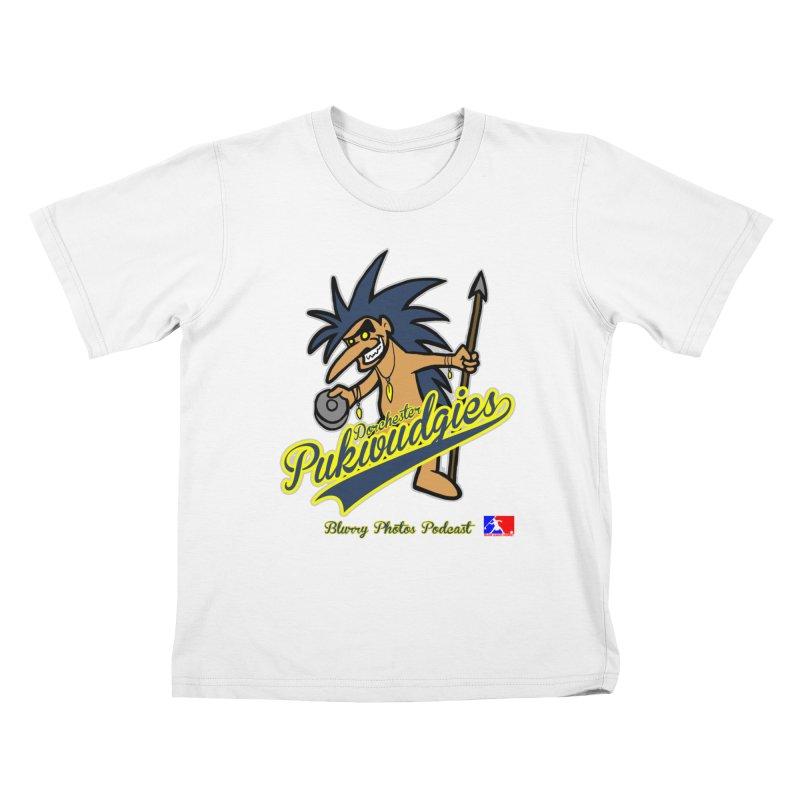 Dorchester Pukwudgies Kids T-Shirt by Blurry Photos's Artist Shop