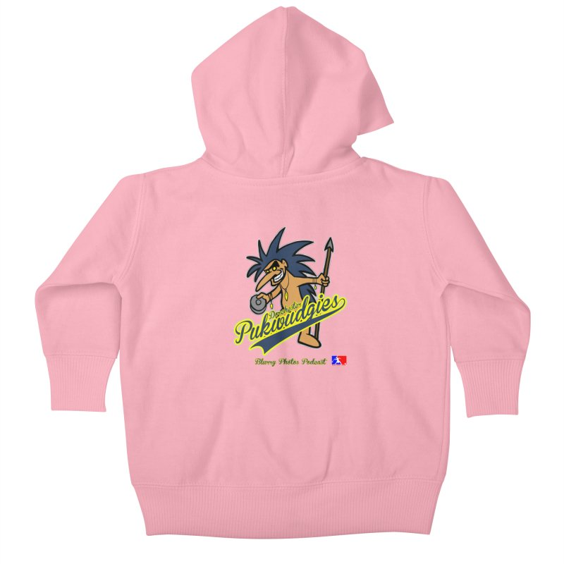 Dorchester Pukwudgies Kids Baby Zip-Up Hoody by Blurry Photos's Artist Shop