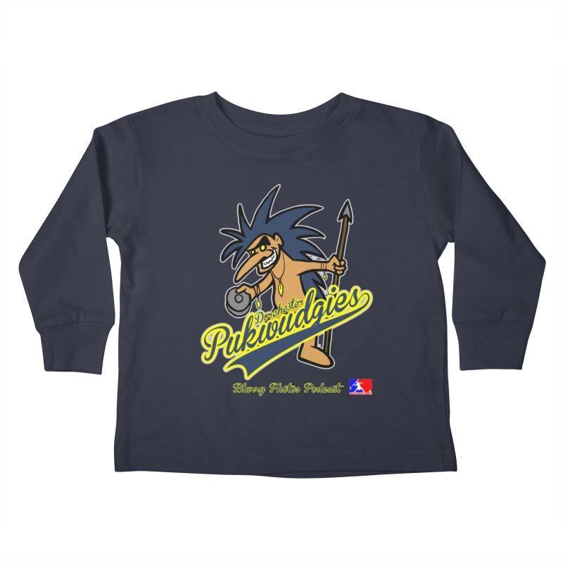 Dorchester Pukwudgies Kids Toddler Longsleeve T-Shirt by Blurry Photos's Artist Shop