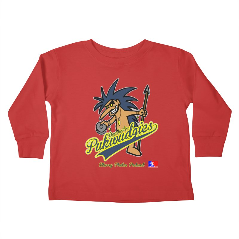 Dorchester Pukwudgies Kids Toddler Longsleeve T-Shirt by Blurry Photos's Artist Shop