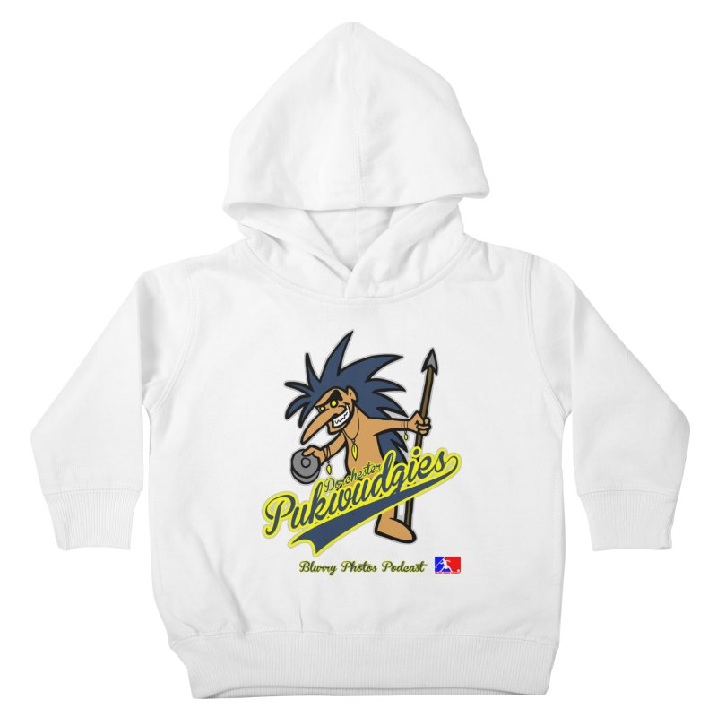 Dorchester Pukwudgies Kids Toddler Pullover Hoody by Blurry Photos's Artist Shop