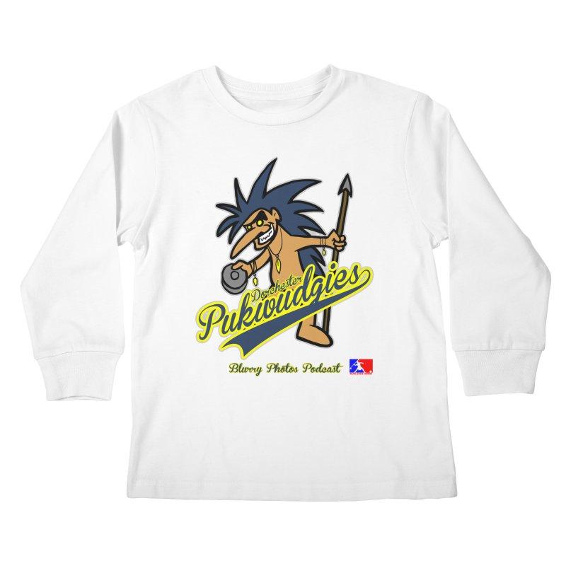 Dorchester Pukwudgies Kids Longsleeve T-Shirt by Blurry Photos's Artist Shop