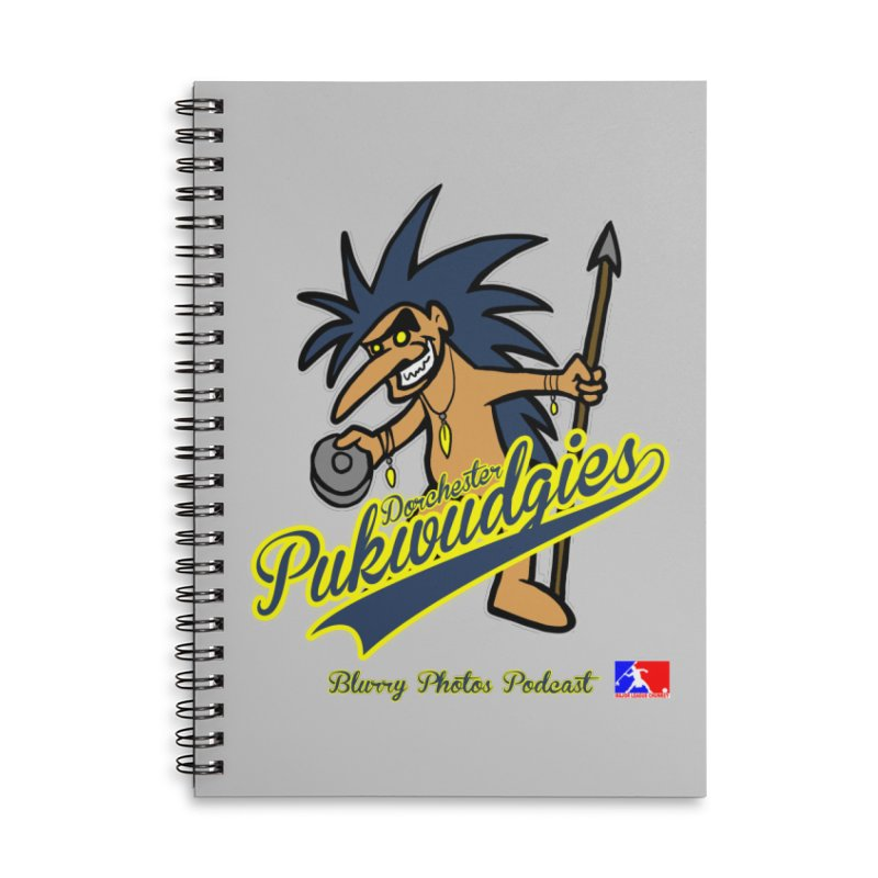 Dorchester Pukwudgies Accessories Notebook by Blurry Photos's Artist Shop