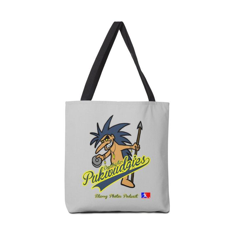 Dorchester Pukwudgies Accessories Bag by Blurry Photos's Artist Shop