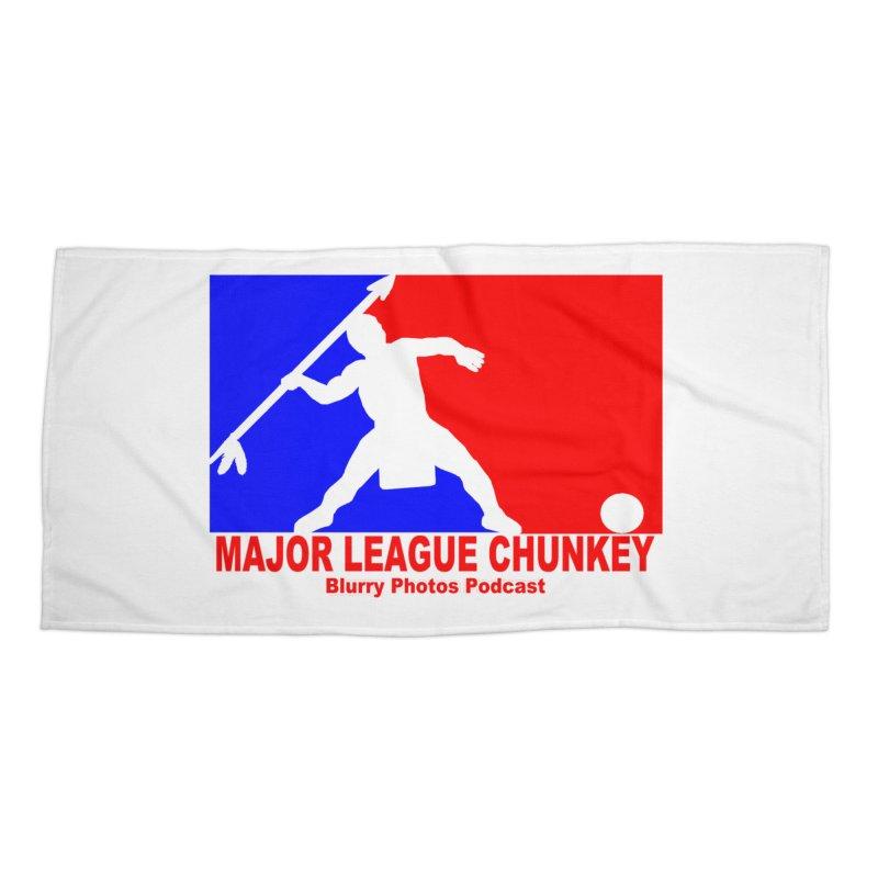MLC Logo Accessories Beach Towel by Blurry Photos's Artist Shop