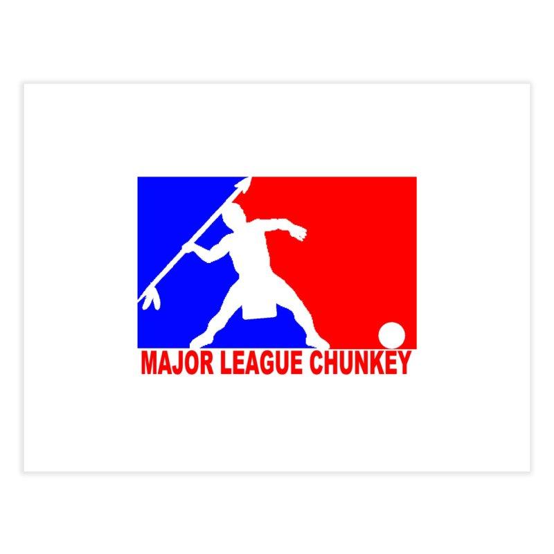 MLC Logo Home Fine Art Print by Blurry Photos's Artist Shop