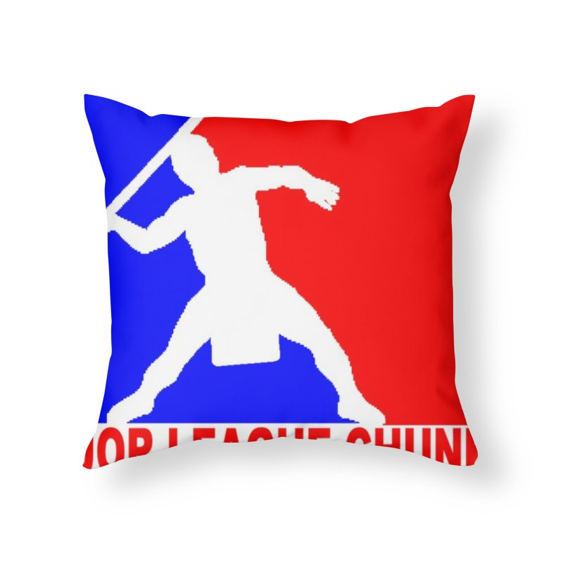 MLC Logo Home Throw Pillow by Blurry Photos's Artist Shop