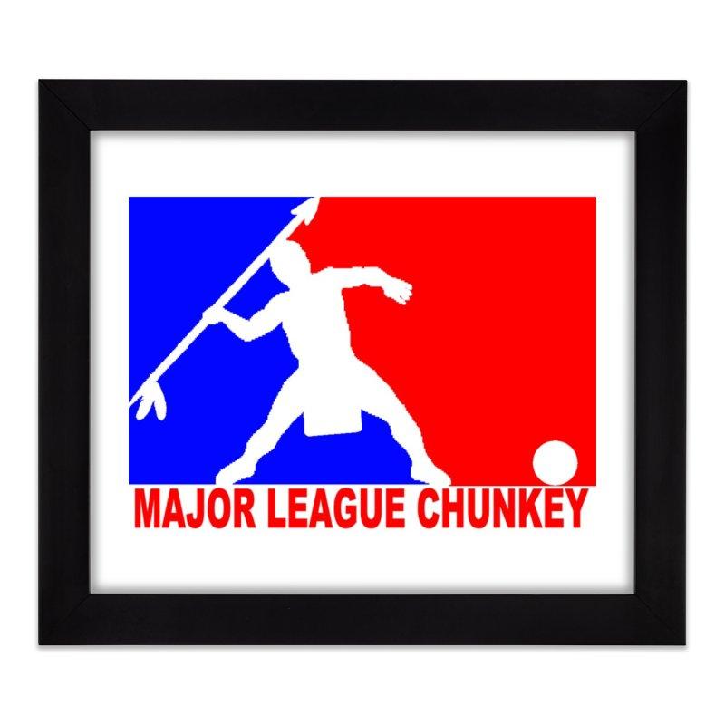 MLC Logo Home Framed Fine Art Print by Blurry Photos's Artist Shop