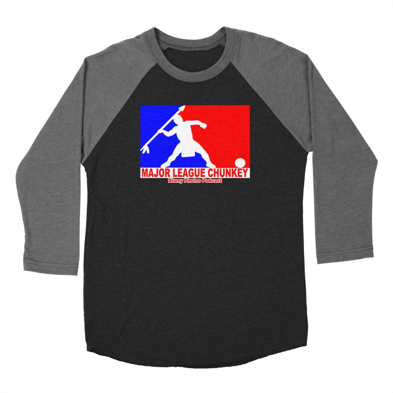 MLC Logo Men's Baseball Triblend Longsleeve T-Shirt by Blurry Photos's Artist Shop