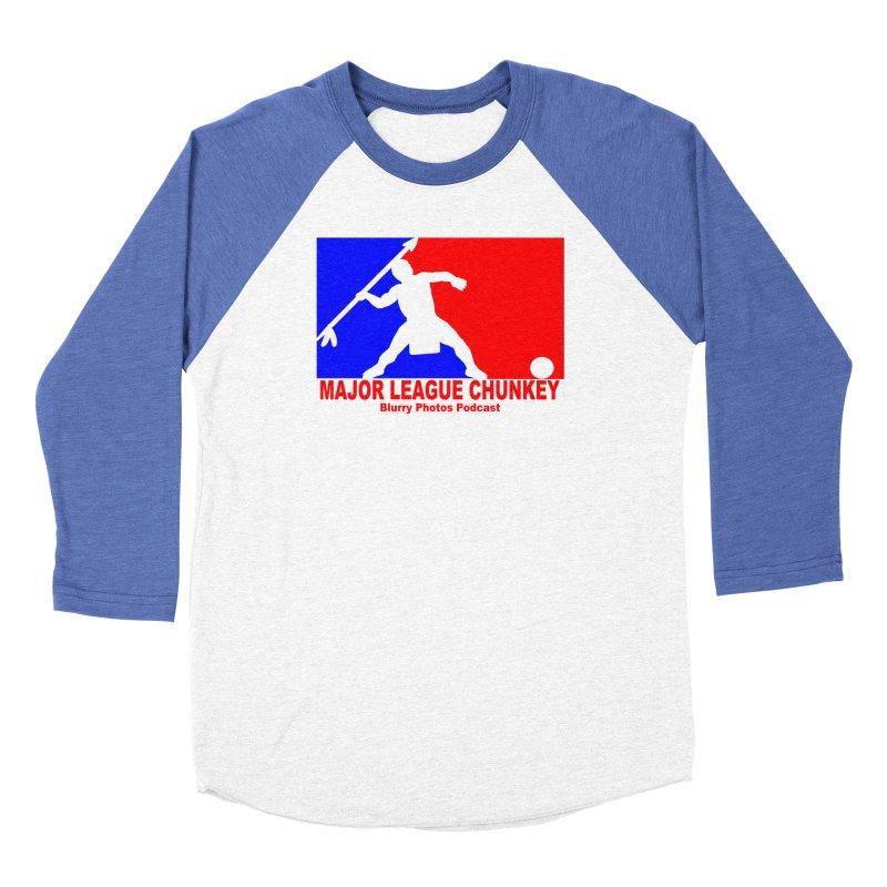 MLC Logo Men's Baseball Triblend Longsleeve T-Shirt by Blurry Photos's Artist Shop