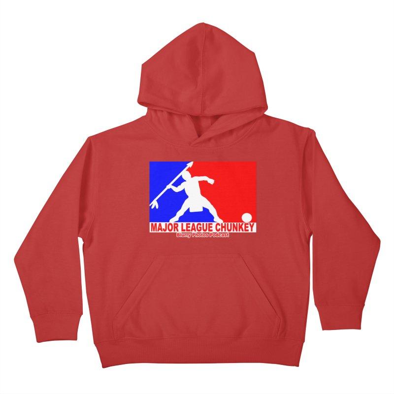 MLC Logo Kids Pullover Hoody by Blurry Photos's Artist Shop