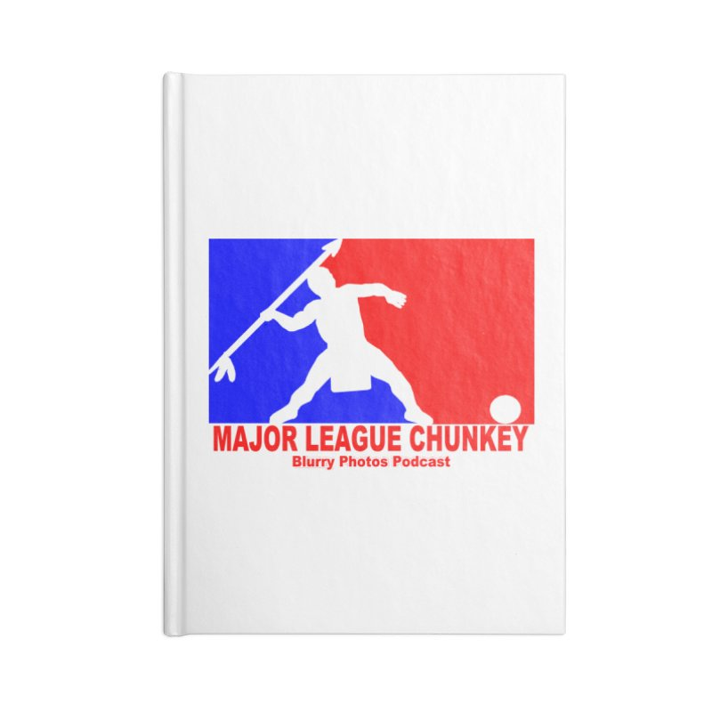 MLC Logo Accessories Notebook by Blurry Photos's Artist Shop